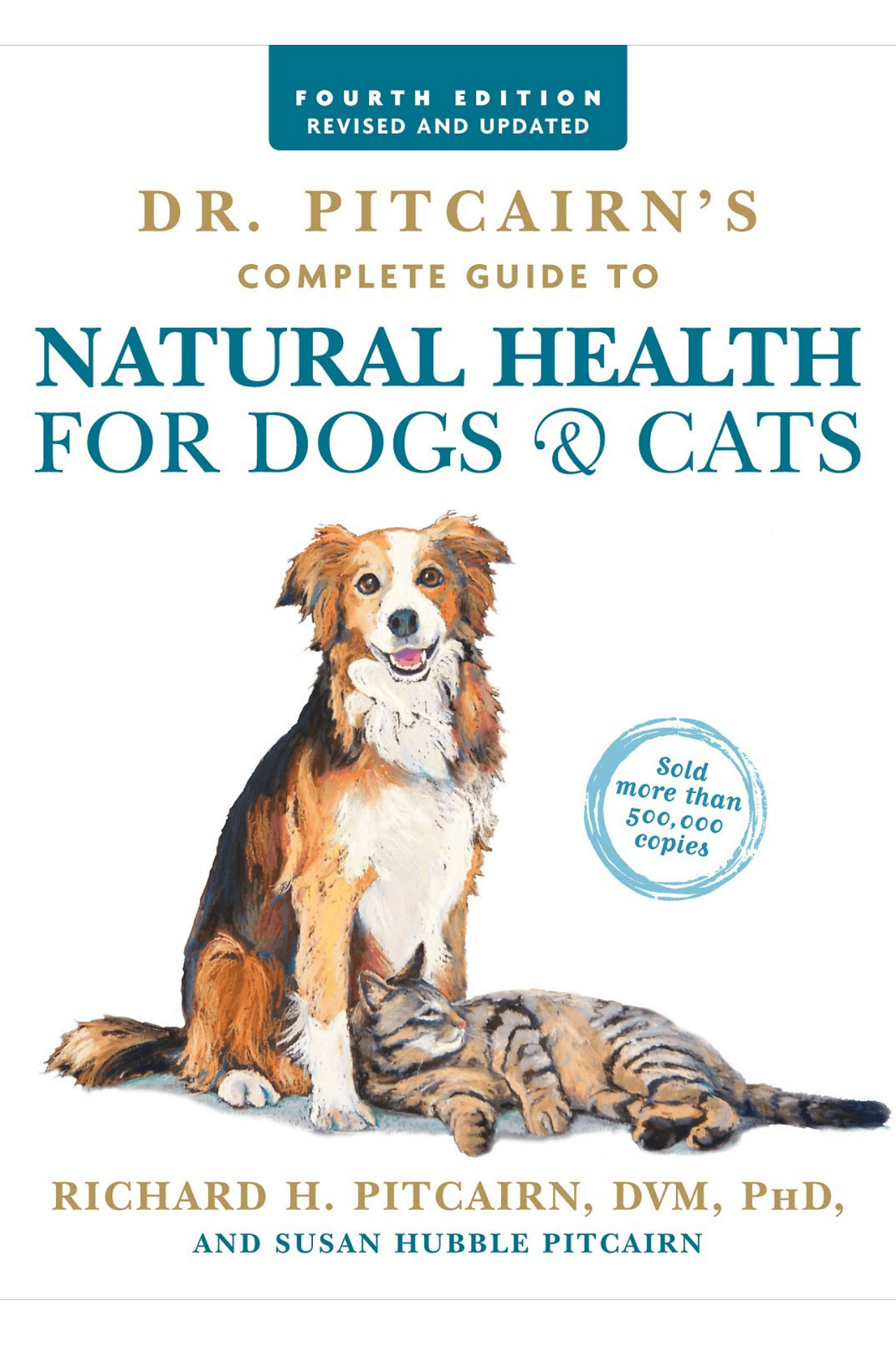Book Cover: Natural Health for Dogs and Cats by Dr. Pitcairn